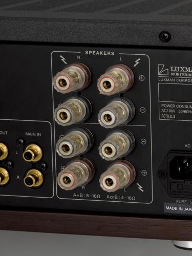 Speaker aansluitingen