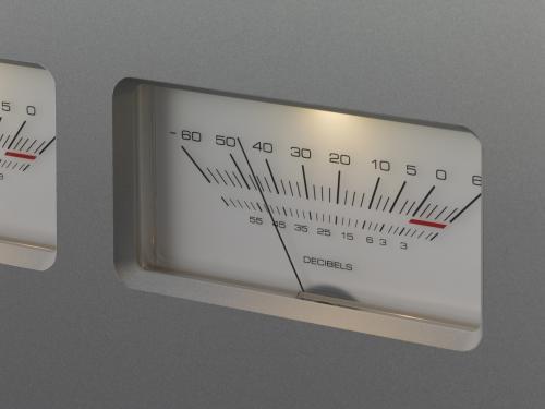 M-700u VU-meter
